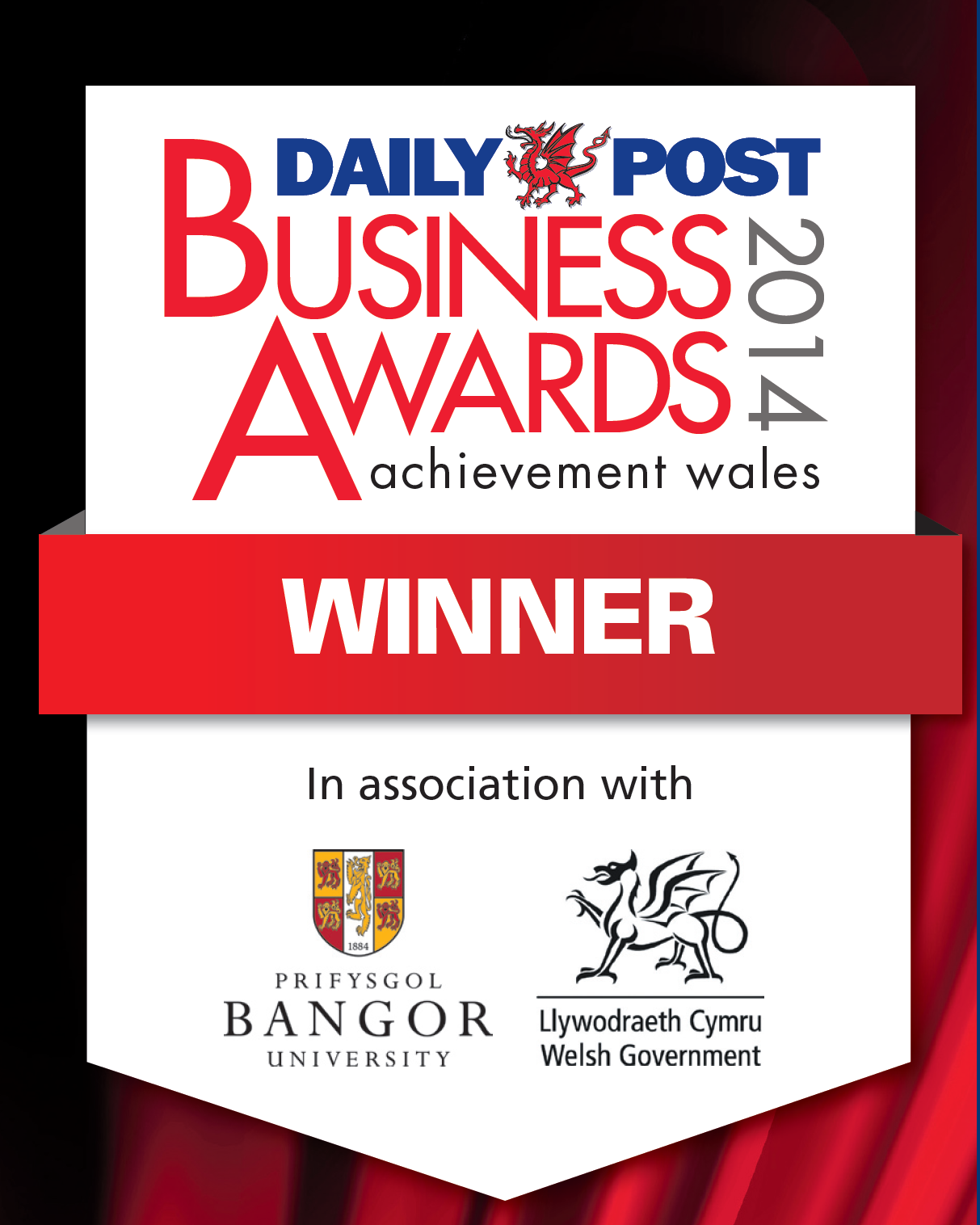 Siop Pwllglas Daily Post Business Awards 2014 Winner
